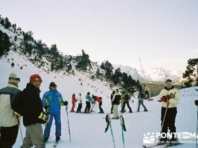 Esquí Baqueira; fiesta de la almudena; viajes a la montaña
